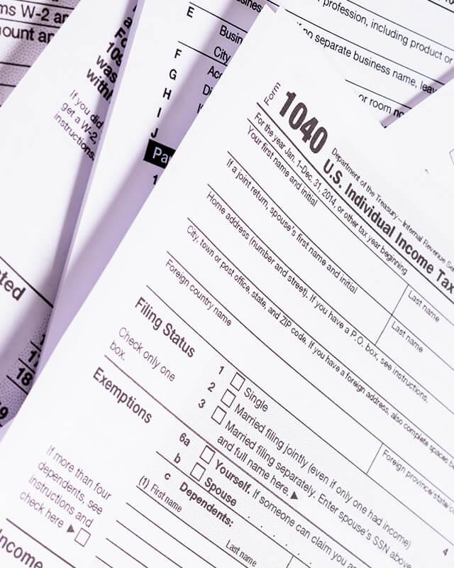 税務申告書類